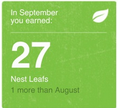 Kyle's September Nest Thermostat Energy Report