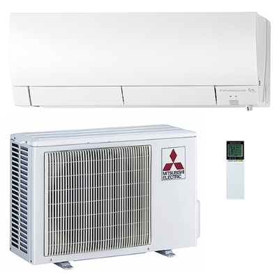 The Most Energy Efficient System On The Market: 30.5 Mitsubishi SEER Ductless Mini Split (DMS)