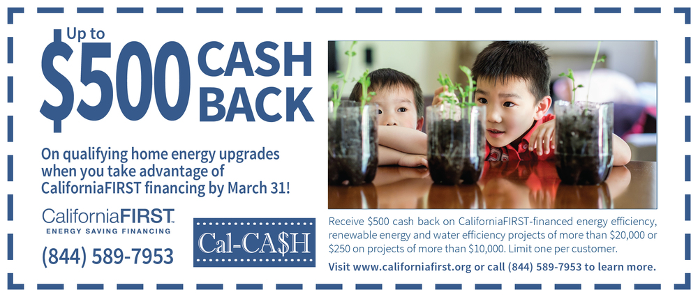 Cal-CASH by California FIRST is Back For A Limited Time
