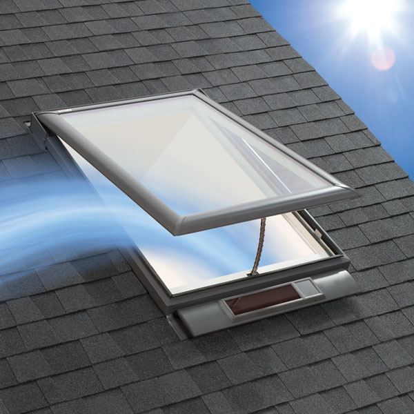 Introducing the Velux Solar-Powered Skylight
