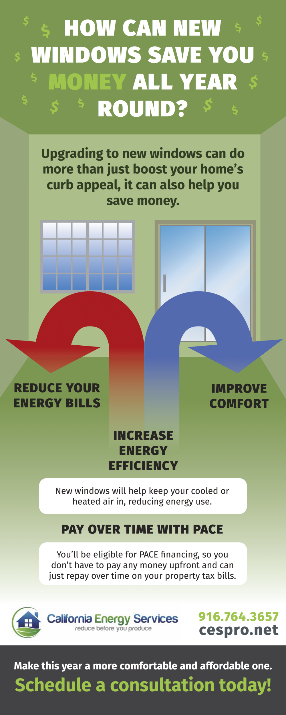 Save Money & Energy This Winter With New Windows